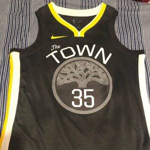 NWOT Golden State Warriors #35 Kevin Durant Jersey